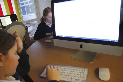 Children typed their instructions, they'll appear on this blog next week