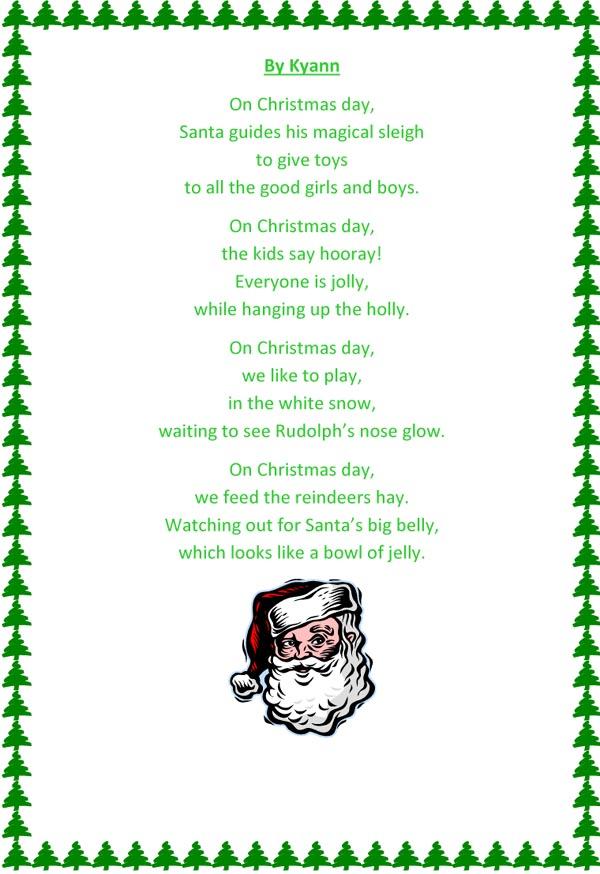 Kyann's poem